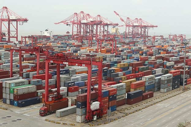 Ports in China's Yangtze and Pearl River Deltas Help Facilitate Regional Economic Growth, Integration