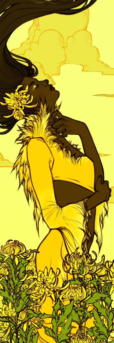 Yellow Chrysanthemum by Newsha-Ghasemi on DeviantArt
