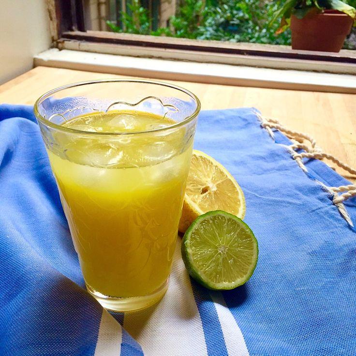 succo di ananas e zenzero