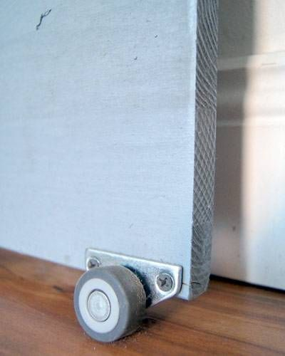 DIY-Idee: Schiebetür bauen: Von der Kellertür zur Wohnzimmertür