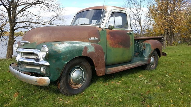 Rich With Patina: 1954 Chevrolet Pickup - http://barnfinds.com/rich-with-patina-1954-chevrolet-pickup/