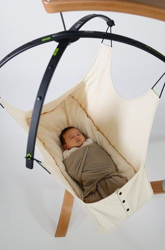 Give your newborn baby all the sleep and a sleeping position that mirror the mother's womb  with the Hushamok Okoa Stand and Organic Hammock. Its natural swinging and rocking motion will surely put your little one to sleep quickly and soundly.