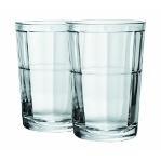 Circleware Pavillion 7 oz Juice Glasses, Set of 4