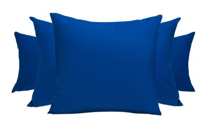 Set 2 Fundas Azul. Visítanos en tuakiti.com #fundaalmohada #pillowcase #decoracion #homedecor #hogar #home #habitacion #bedroom #tuakiti