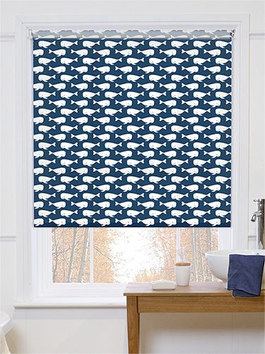 Sea Life Naval Roller Blind