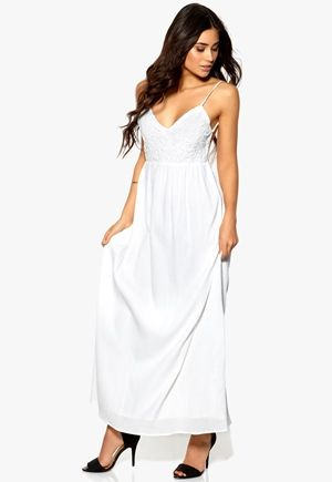 Make Way Tash Dress White