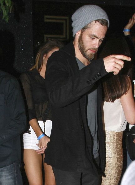 Chris Pine Photos: Chris Pine Arrives at Bootsy Bellows