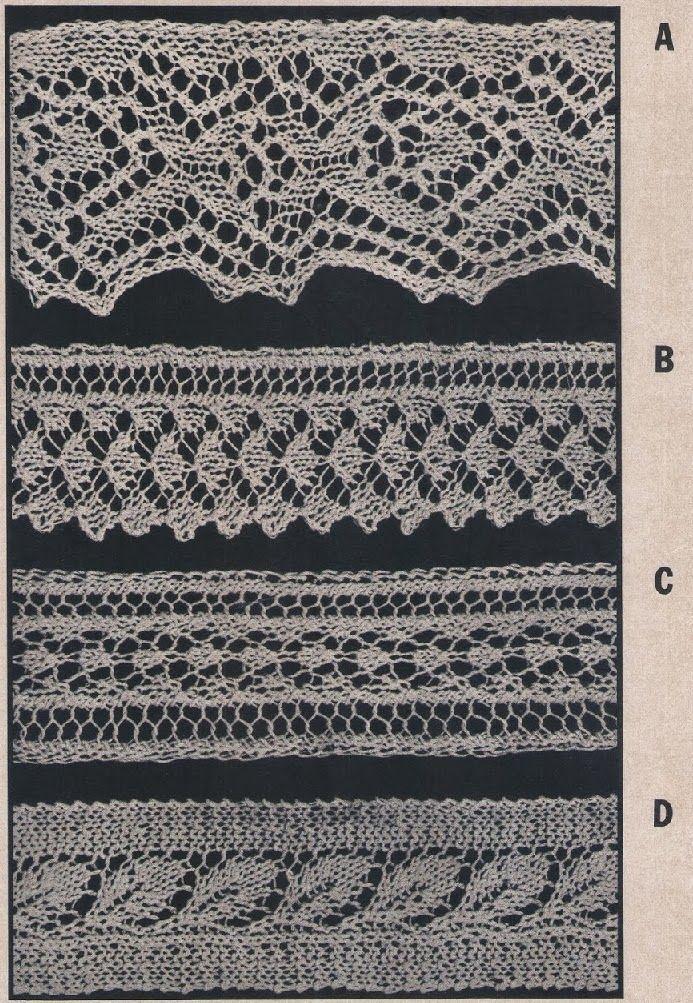 Barrados em tricô