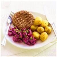 Bietensalade met hamburger recept - Vlees - Eten Gerechten - Recepten Vandaag