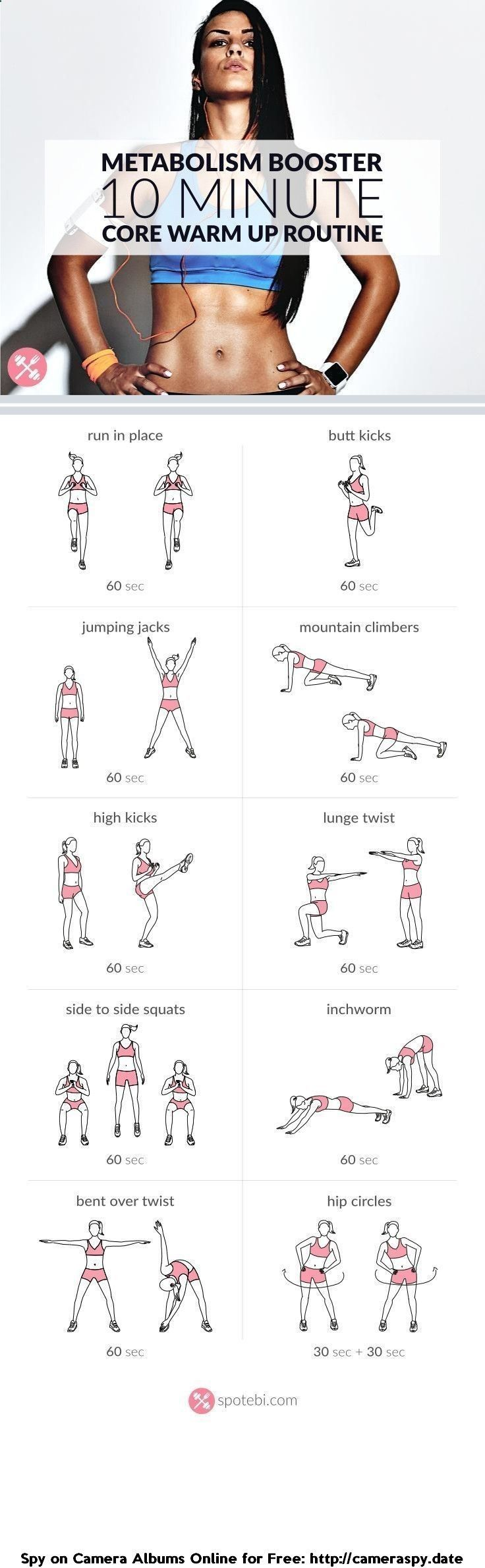 See more here ► www.youtube.com/... Tags: easy ways to lose weight fast without exercising, how to lose weight without exercise, how can you lose weight without exercising - Warm up your abs and lower back with this bodyweight at home core warm up routine