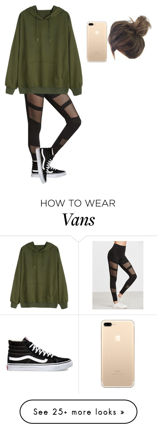 """""""No Name #46"""" by love-cupcake-840 on Polyvore featuring Vans"""