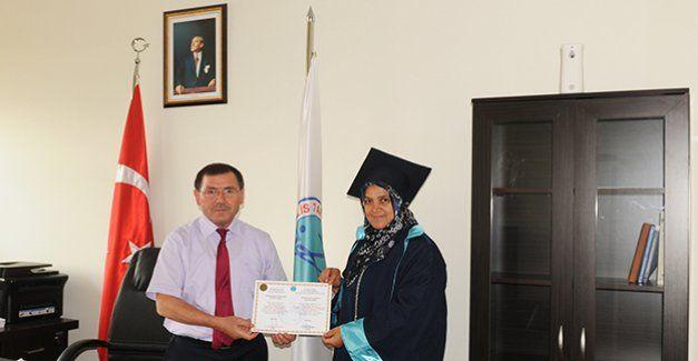 KYU 50 Yaşında bir mezun verdi! Yakamoz Yakut haberleri