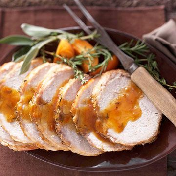 Herbed Apricot Pork Loin RoastHealthy Slow Cooker, Slow Cooker Recipe, Loin Roasted, Pork Roasted, Crock Pots, Pork Loin, Herbs Apricot, Roasted Recipe, Apricot Pork