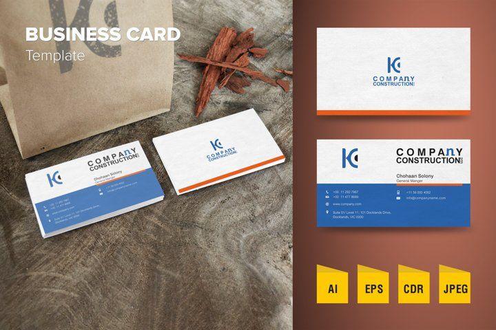 Modern Business Card Template 1045254 Business Cards Design Bundles In 2021 Modern Business Cards Business Card Template Business Card Design