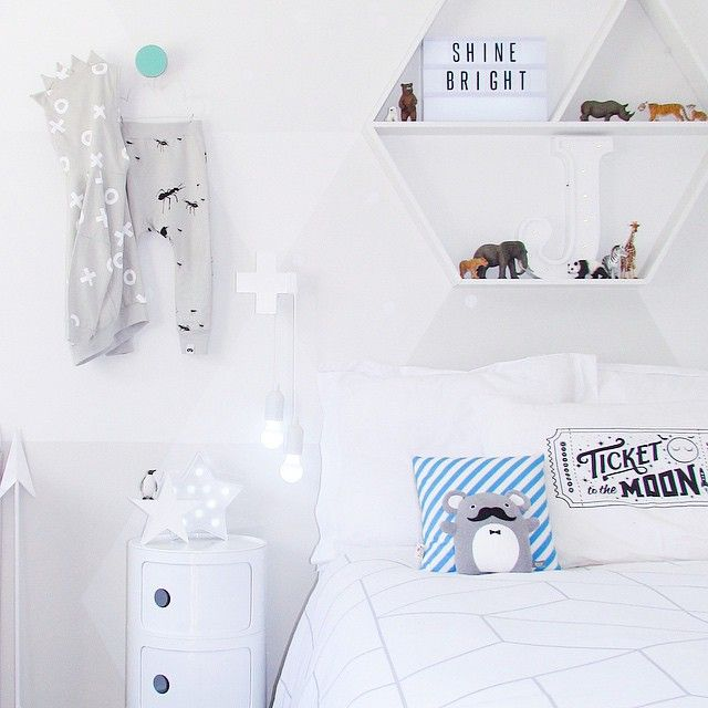 #ShareIG Half way through this room change. Here's the awesome geometric duvet I brought from @society6 and how cool are those Beau loves ants pants! Available now from @beaumondebabe