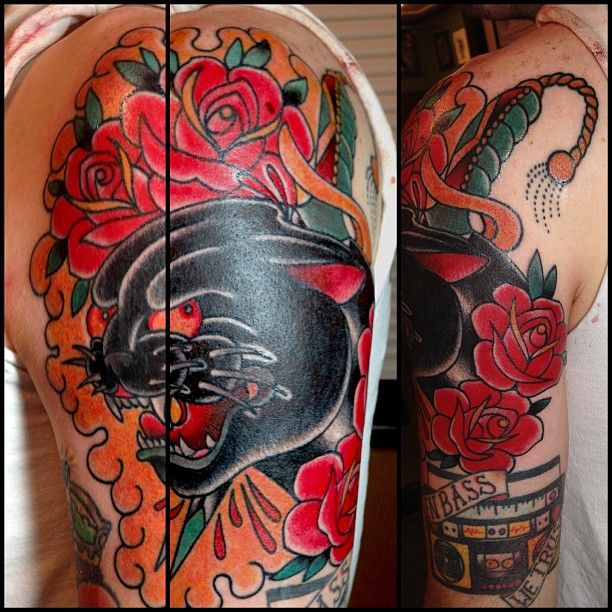 99 best images about panther tattoos on pinterest for Tattoos in charlotte nc
