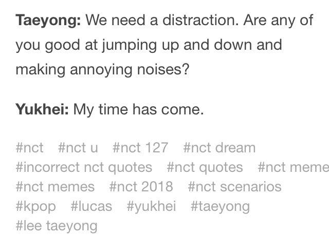 Nct Scenarios