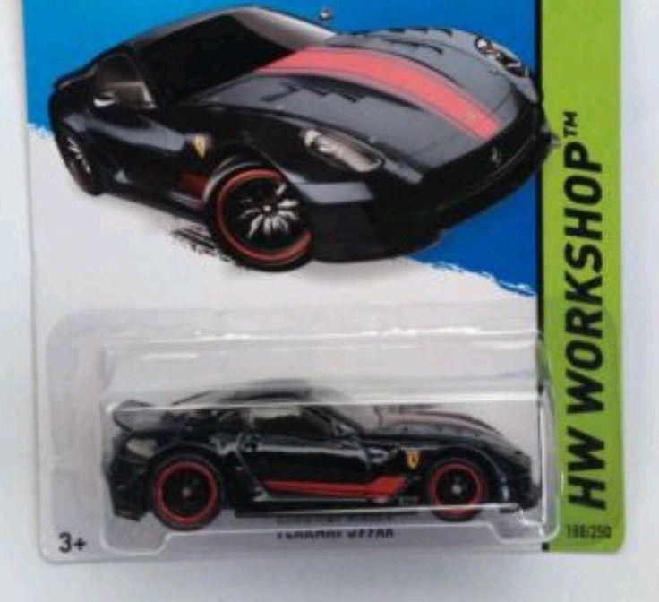 hot wheels 2015 super treasure hunt ferrari 599xx new carded - Rare Hot Wheels Cars 2015