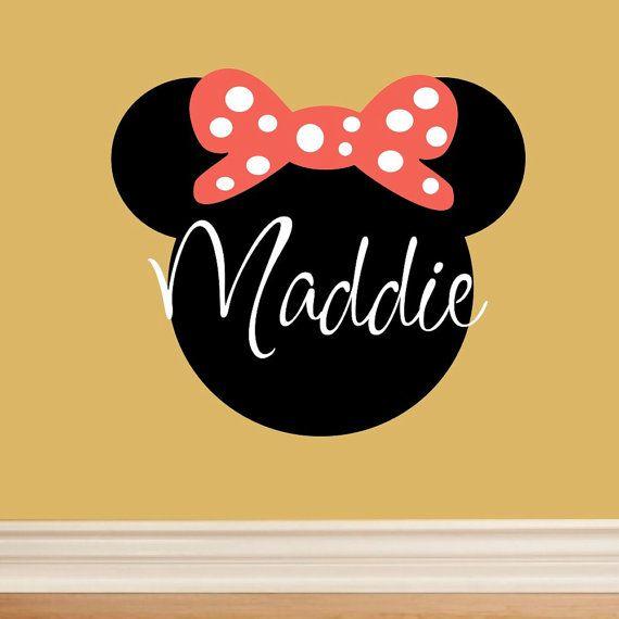 40 best minnie mouse bedroom images on Pinterest | Child room, Room ...