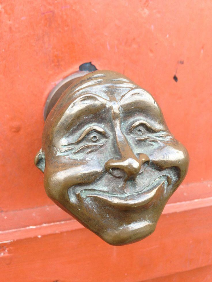 Very funny door knocker