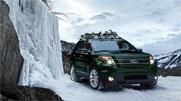 The 2013 Explorer Limited in Green Gem Metallic