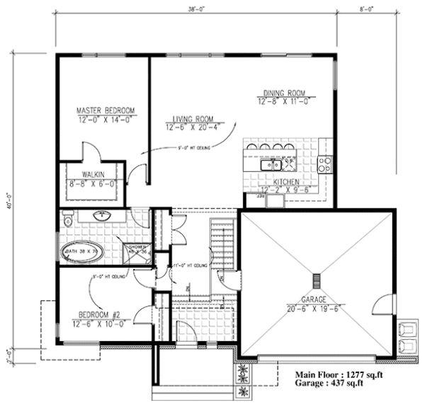 53 best Plan maison images on Pinterest Floor plans, Home plans