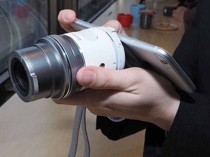 OLYMPUS AIR A01(M.ZUIKO DIGITAL ED 14-42mm F3.5-5.6 EZレンズと、iPhoneとの組み合わせ)