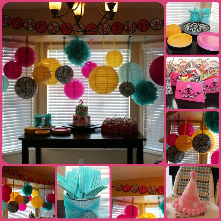 Cute Birthday Party Ideas