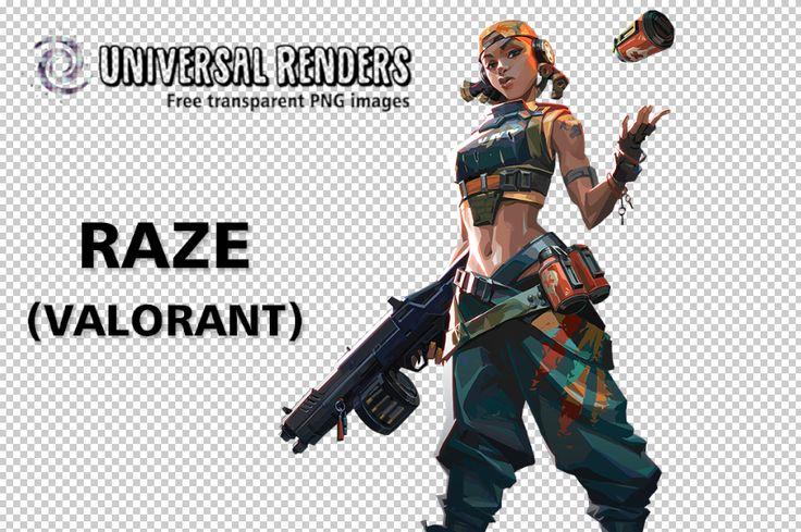 Raze Valorant Free Transparent Background Imagem Render Png Universalrenders Com Vi League Of Legends Png Transparent Background