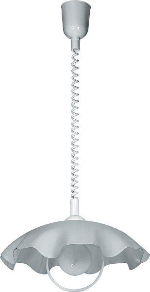SMERLATO - kuchynská lampa - ø 420mm - biele