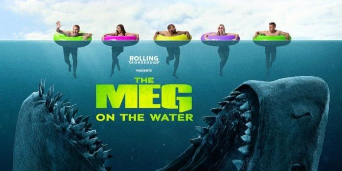 Get Ready To Experience The Meg On The Water Thriller Film Streaming Movies Horror