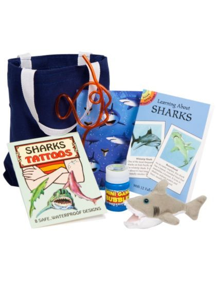 Deluxe Shark Party Favor Kit - Party Favors & Party Supplies