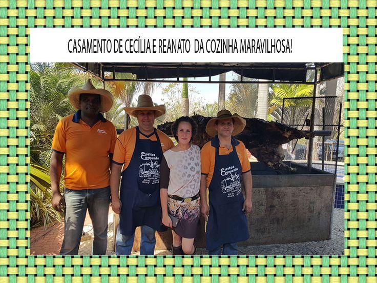 Eventos e Compania presentes no Casamento de Cecília e Renato! Veja no Blog Novas Noivas: http://bit.ly/1MHNwWl