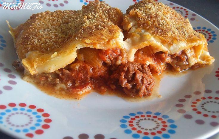 Lasagnes au chorizo 250 g de viande hachées de boeuf 5% 1 chorizo (piquant ou…