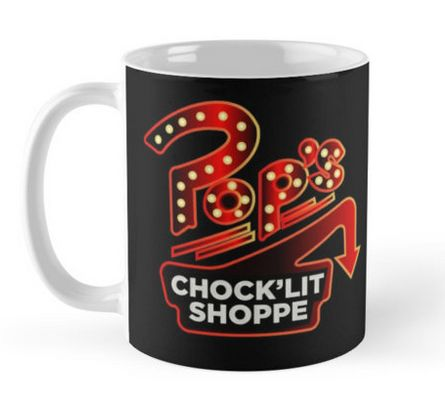 Is Pop's Diner from #Riverdale the new Central Perk? What would you order here? :)  https://www.redbubble.com/people/ijoshtherefore/works/25928346-pops-chocklit-shoppe?asc=u&p=mug&rel=carousel&style=standard
