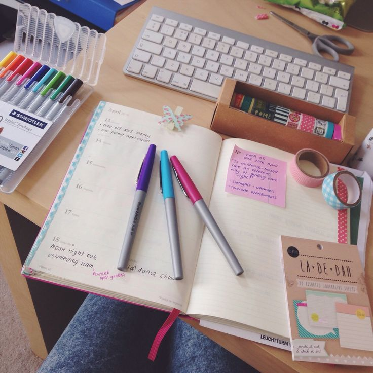 ou-student-journey:   Planning for next week. - The Organised Student