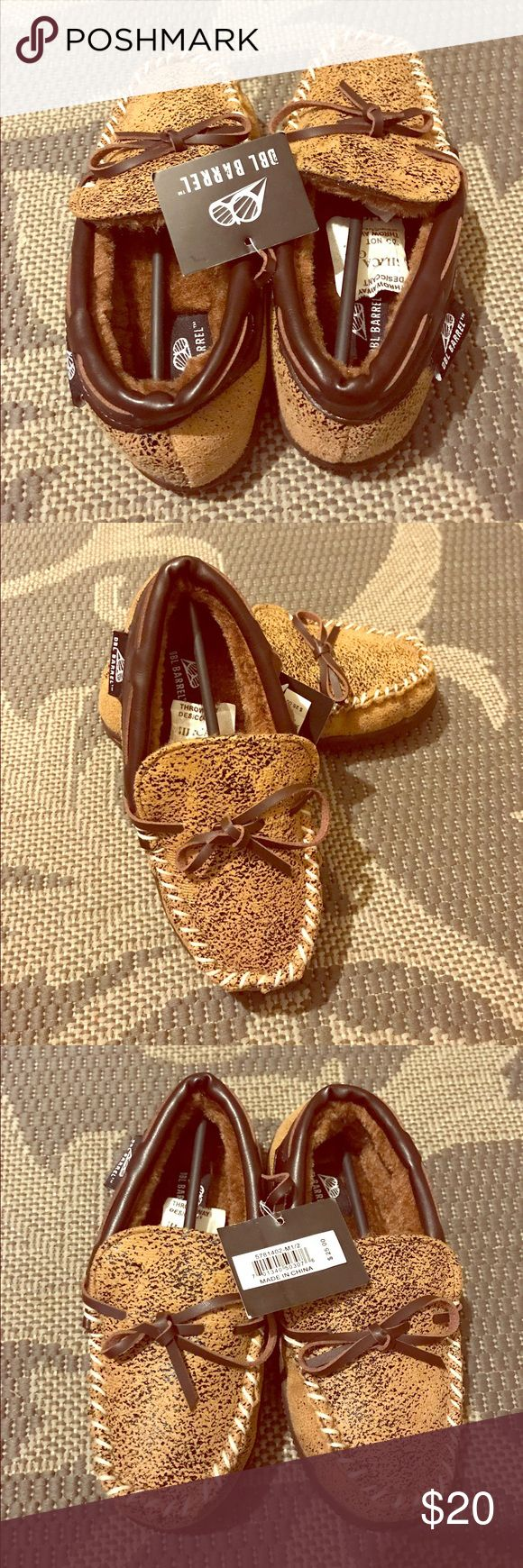 Double Barrel Boys Shoes Moccasins slip on loafers. Plush lined. Super comfortable and stylish. Double Barrel Shoes Moccasins