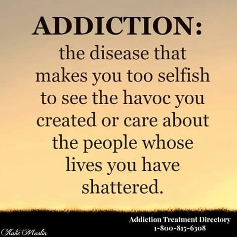 Whether it's alcohol, drugs, gambling, shopping, sex or relationships, the havoc and devastation you create is the same. There is a solution!!