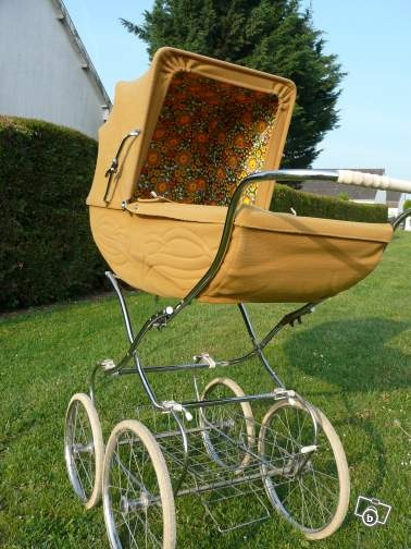 landau annee 1970 equipement b b somme poussettes pinterest prams vintage. Black Bedroom Furniture Sets. Home Design Ideas