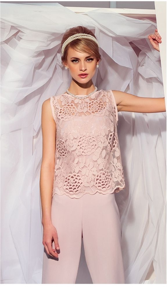 Cut out pastel lace