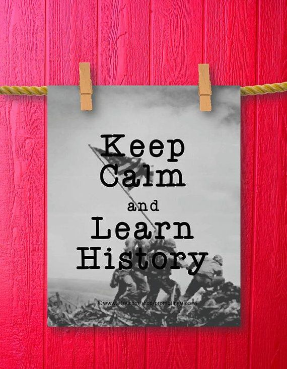 History Teacher Classroom Decor Gifts for by PromotingSuccess, $5.00