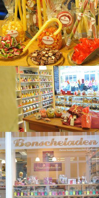 Bonscheladen - feine handgemachte Bonbons - Fudge - Mandeln - Nüsse - für Feinschmecker in Handarbeit