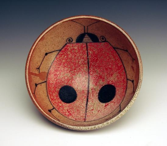 Lady Bug Bowl Ceramics Pinterest Lady Bowls And