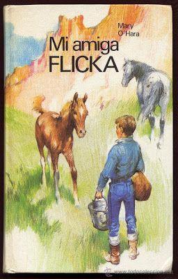 """Ficha de lectura de """"Mi amiga Flicka"""" de Mary O'hara, realizada por Alberto García"""