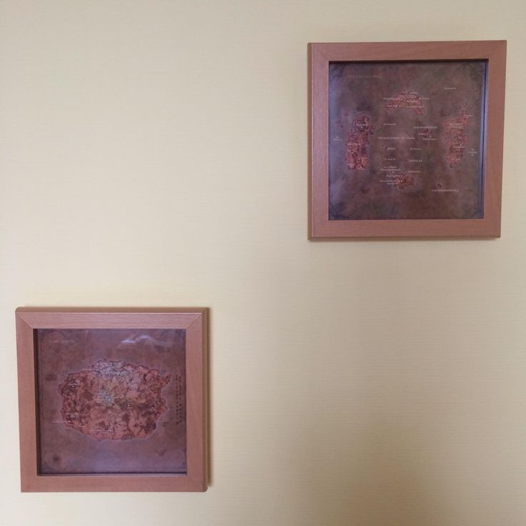I made square versions of Chronicles' maps of Azeroth and hung them on my wall. #worldofwarcraft #blizzard #Hearthstone #wow #Warcraft #BlizzardCS #gaming