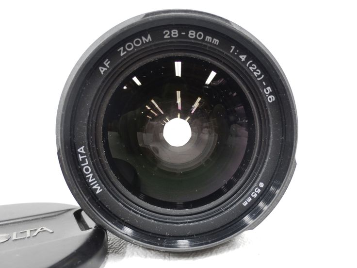 Camera Lens Zoom Minolta AF 28-80 mm 1:4 (22) - 5.6