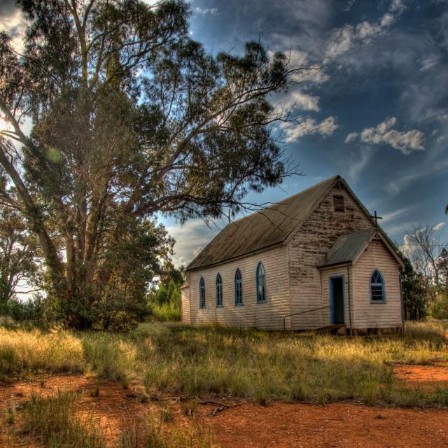 Old catholic church HDR