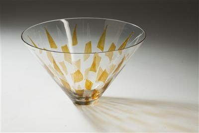 Glass bowl, 1960, D: 18,0 cm