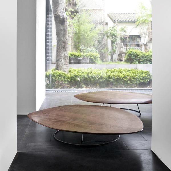 Design Salontafel Ligne Roset.Pebble Coffee Table By Ligne Roset Solid Wood Coffee Table