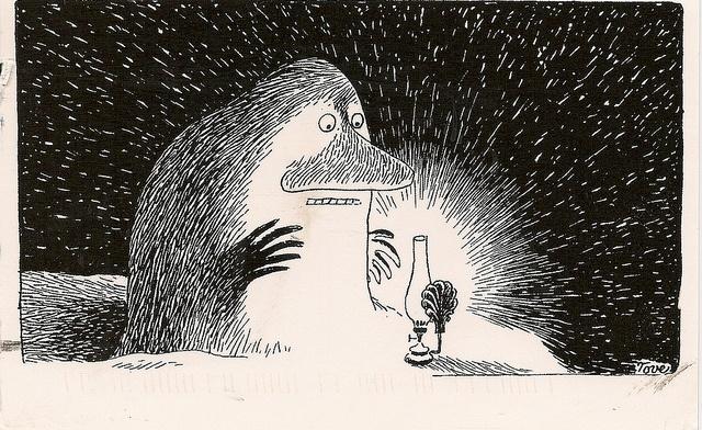 Tove Jansson Moomin Postcard